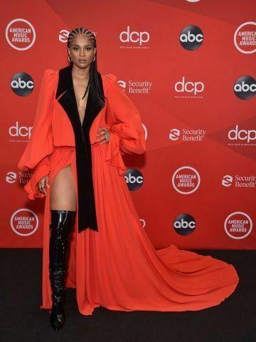 Ciara at the 2020 American Music Awards.